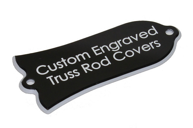 Custom Engraved Truss Rod Cover Fits Most Gibson Guitars