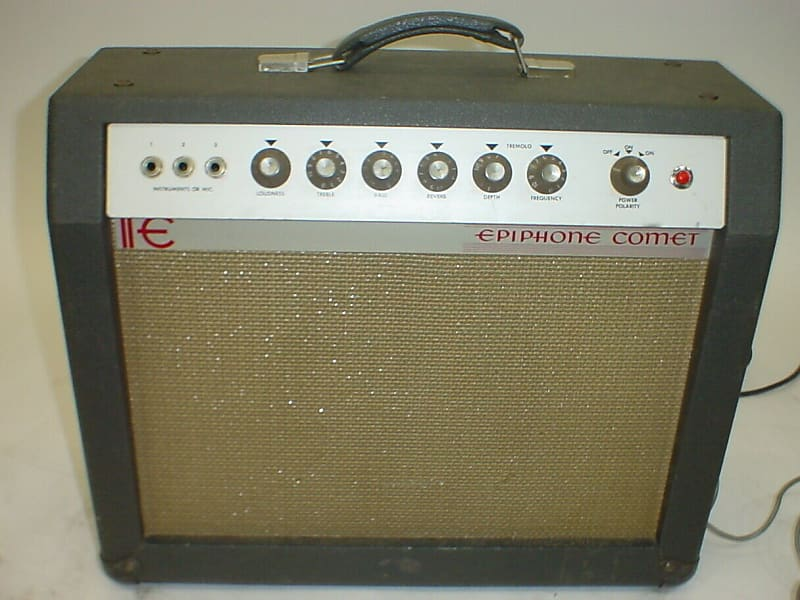 vintage epiphone comet combo electric guitar amplifier amp w reverb. Black Bedroom Furniture Sets. Home Design Ideas