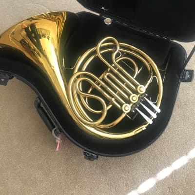 Cg conn ltd French horn made in the USA ohsc Brass | Reverb
