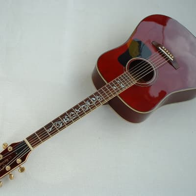 Marina Mark 32 WR 1980 Western Vintage 6 String Guitar Top Sound for sale
