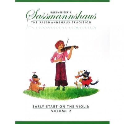 Bärenreiter's The Sassmannshaus Tradition: Early Start on the Violin - Volume 2