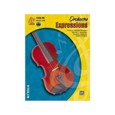 Orchestra Expressions Method Book 1 -Violin