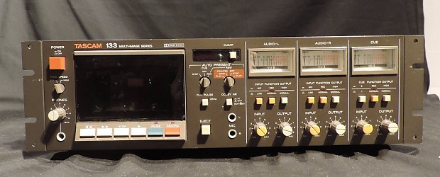 tascam 133 two speed vintage cassette deck with brand new. Black Bedroom Furniture Sets. Home Design Ideas