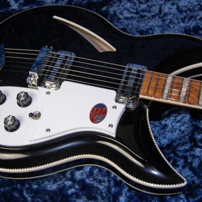 MINT! Rickenbacker 381V69 Vintage Series Electric Guitar Carved Top & Back Original Case Super RARE! for sale