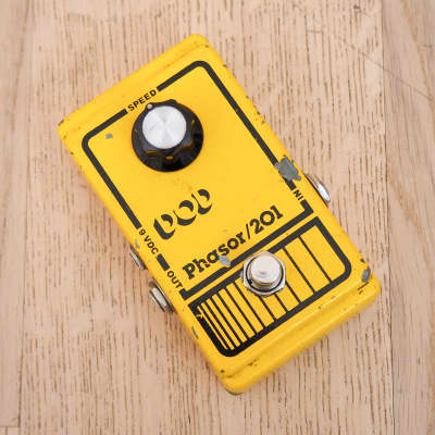 1980s DOD 201 Phasor Vintage Guitar Effects Pedal Phaser USA-Made for sale