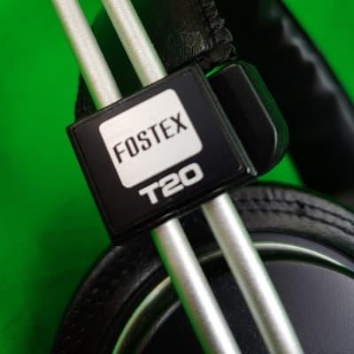 Vintage Fostex T-20 Stereo Headphones / Japan (1980's)