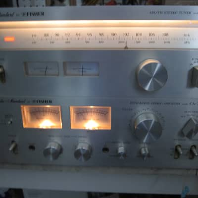 Marantz 1090 Console Stereo Amplifier and 2100 Tuner | Reverb