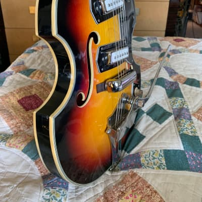 Trump 60's  Viola Style  60's Sunburst for sale