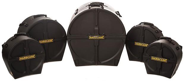 Hardcase Drum Case Set 14 Sd 12 Tt 13 16 Ft 22 Bd Hstandard
