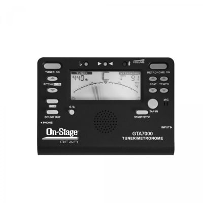 On-Stage Gear Tuner/Metronome
