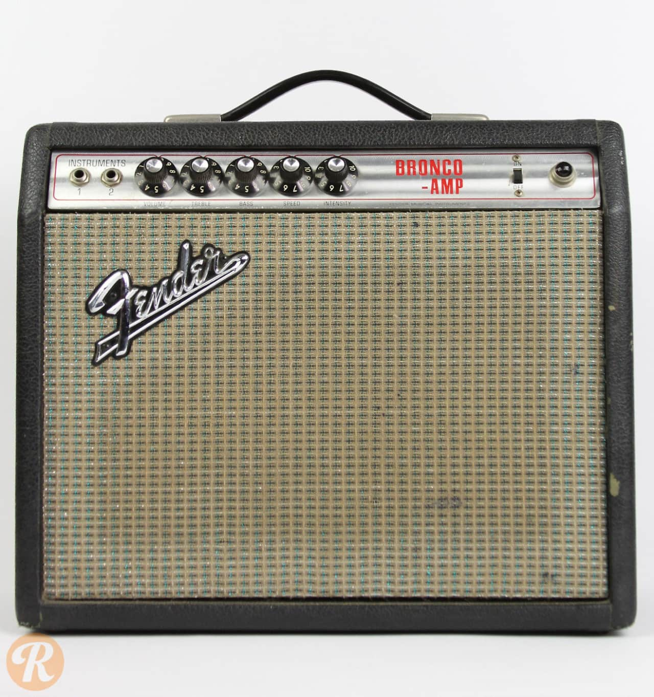 fender bronco amp early 39 70s silverface price guide reverb. Black Bedroom Furniture Sets. Home Design Ideas