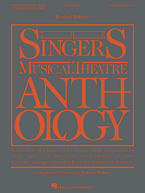 The Singer's Musical Theatre Anthology - Volume 1, | Reverb