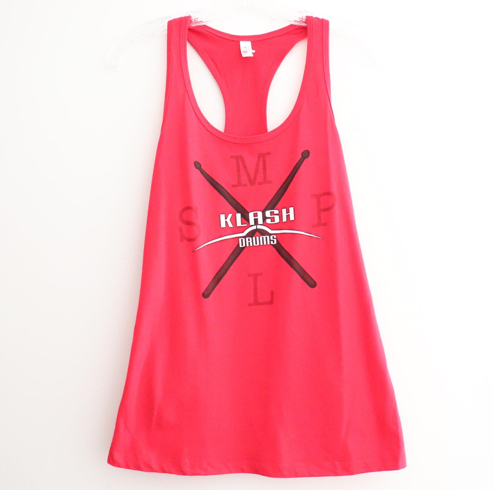 Klash Drums MPLS Female Shirt Red