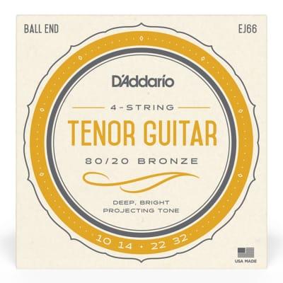 D'Addario EJ66 Tenor Guitar Strings 10-32