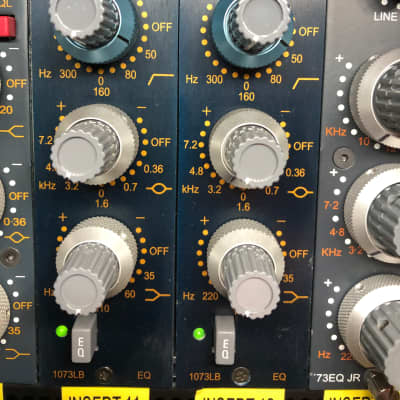 AMS Neve 1073LBEQ 500 Series Equalizer Module