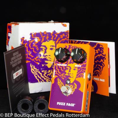 MXR JHM1 Fuzz Face 70th Anniversary Tribute Jimi Hendrix Limited Edition 2012 s/n AB53W781 USA