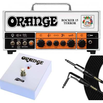 Orange Amplifiers Rocker 15 Terror + Footswitch + Mogami Cable