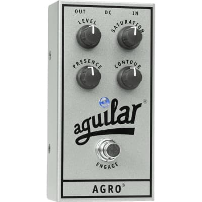 Aguilar Agro (Silver 25th Anniversary Limited Edition) Bass Overdrive for sale
