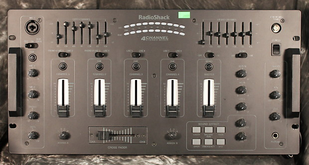 RadioShack 4-Channel Stereo Mixer with Sound Effects
