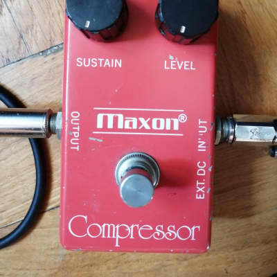 Vintage Maxon Compressor (CP101) - 1970's Red box (Japan)