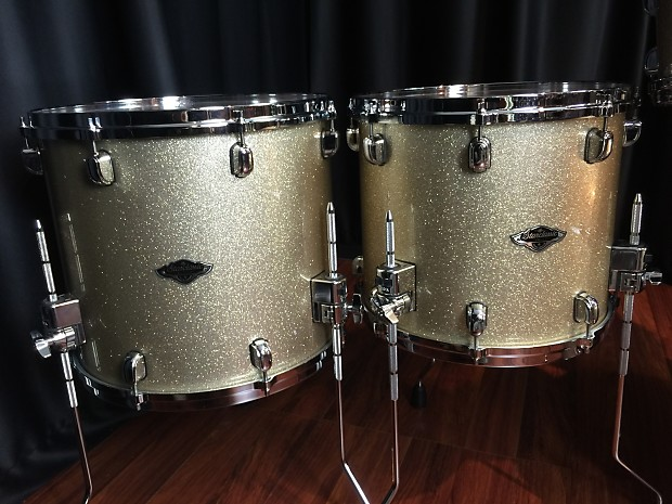 Tama drums sets Starclassic BB Hyper-drive 5 piece Champagne Sparkle Used