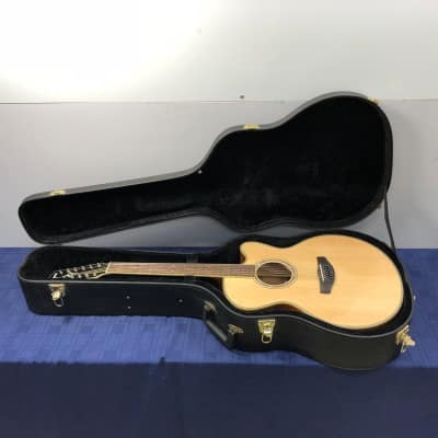 Yamaha Compass Series CPX700II-12 Natural 12-String Acoustic Electric Guitar with Case for sale