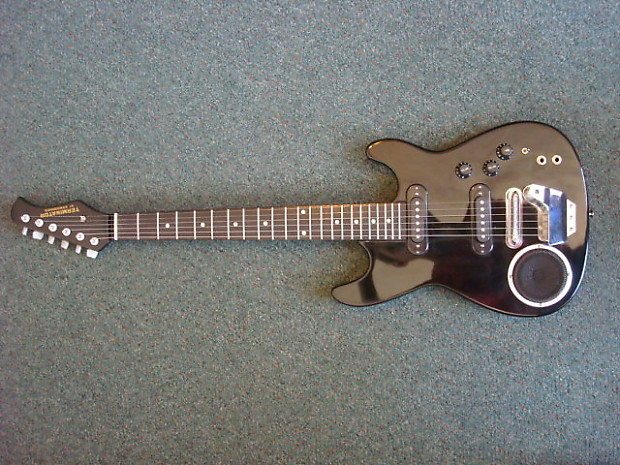 synsonics terminator electric guitar with built in amp by reverb. Black Bedroom Furniture Sets. Home Design Ideas