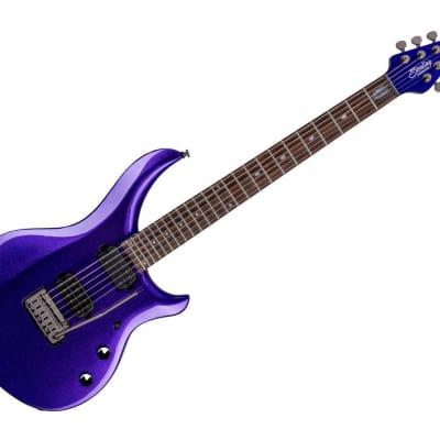 Sterling by Music Man Electric Guitar with Gigbag -  Purple Metallic/Rosewood-MAJ100X-PPM