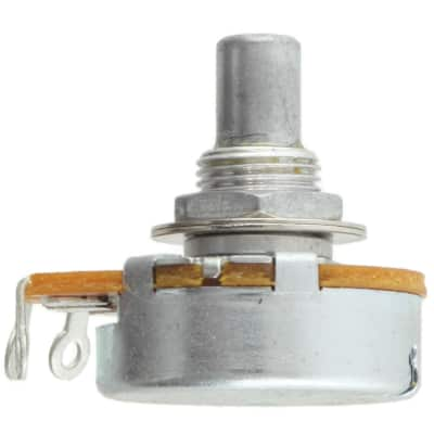 "Alpha Taiwan 24mm Body 3/8"" Bushing Potentiometer with Solder Lugs, 10K Linear"