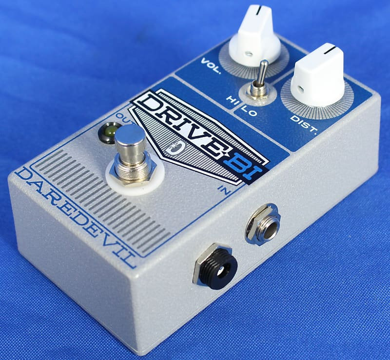 daredevil usa drive by overdrive effect effects pedal for reverb. Black Bedroom Furniture Sets. Home Design Ideas