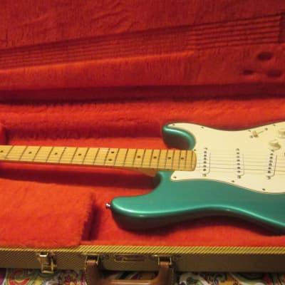 Fender 40th Anniversary American Standard Stratocaster 1994 Green for sale