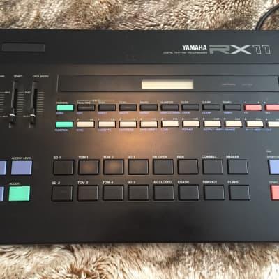 Yamaha RX11 Vintage 1985 Digital Rhythm Programmer Drum Machine