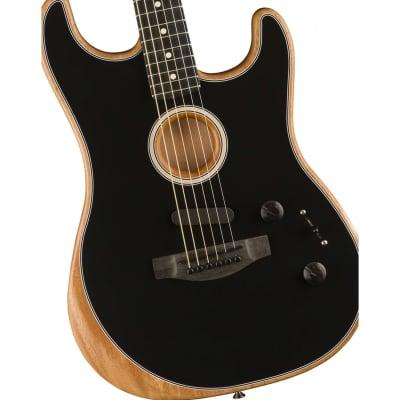 Fender Acoustasonic Stratocaster - Black for sale