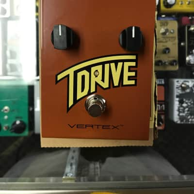 Vertex T-Drive Effect Pedal - Mint Condition!