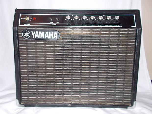 Yamaha vintage yamaha g50 112 solid state guitar amp reverb for Yamaha bass guitar amplifier