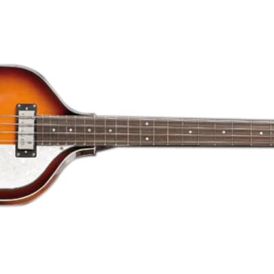 Hofner Ignition Violin Bass Guitar - Sunburst, Case, Left for sale