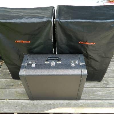 """Collector Quality"" Cordovox CG-IV-M Vintage 1973 + CXA Amp + CXG Tone Gen + Covers + Orig Manual"