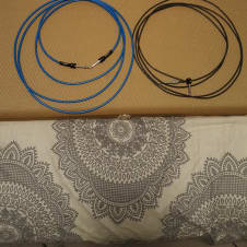 George L's Two 12 Foot Guitar Cables Save $$