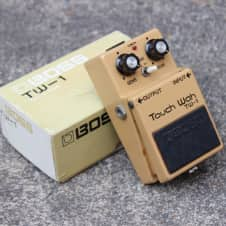 1979 Boss TW-1 Touch Wah Autowah Vintage Effects Pedal MIJ w/Box