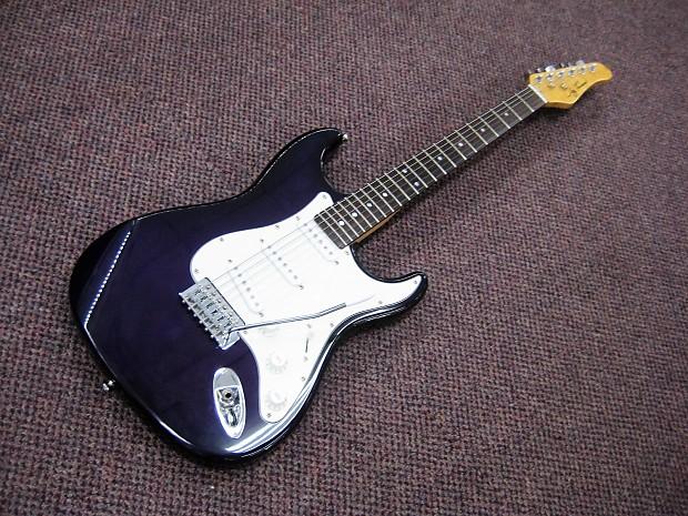 jay turser electric guitar 2000s dark purple reverb. Black Bedroom Furniture Sets. Home Design Ideas