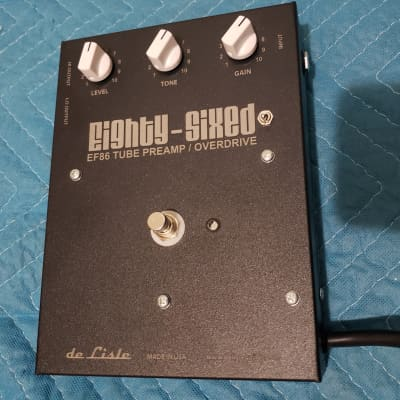 De Lisle Eighty-sixed Ef86 Preamp Overdrive for sale