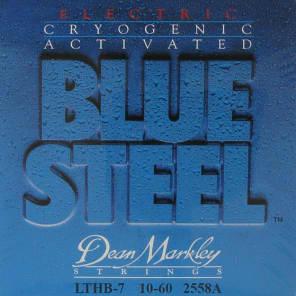 Dean Markley 2558A Blue Steel 7-String Light Top Heavy Bottom Electric Guitar Strings - 10-60