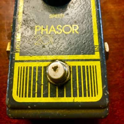Dod Phasor 201 Phaser Pedal Vintage Grey Gray 1970s for sale