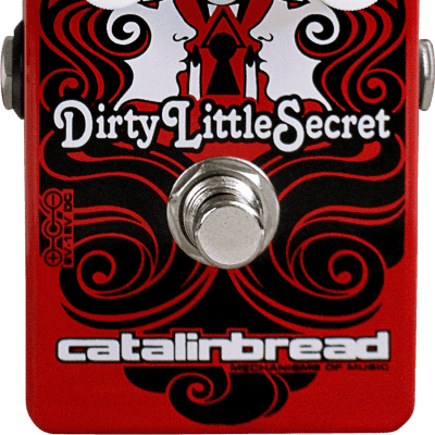 New Catalinbread Dirty Little Secret Limited Edition Red Mod Effects Pedal