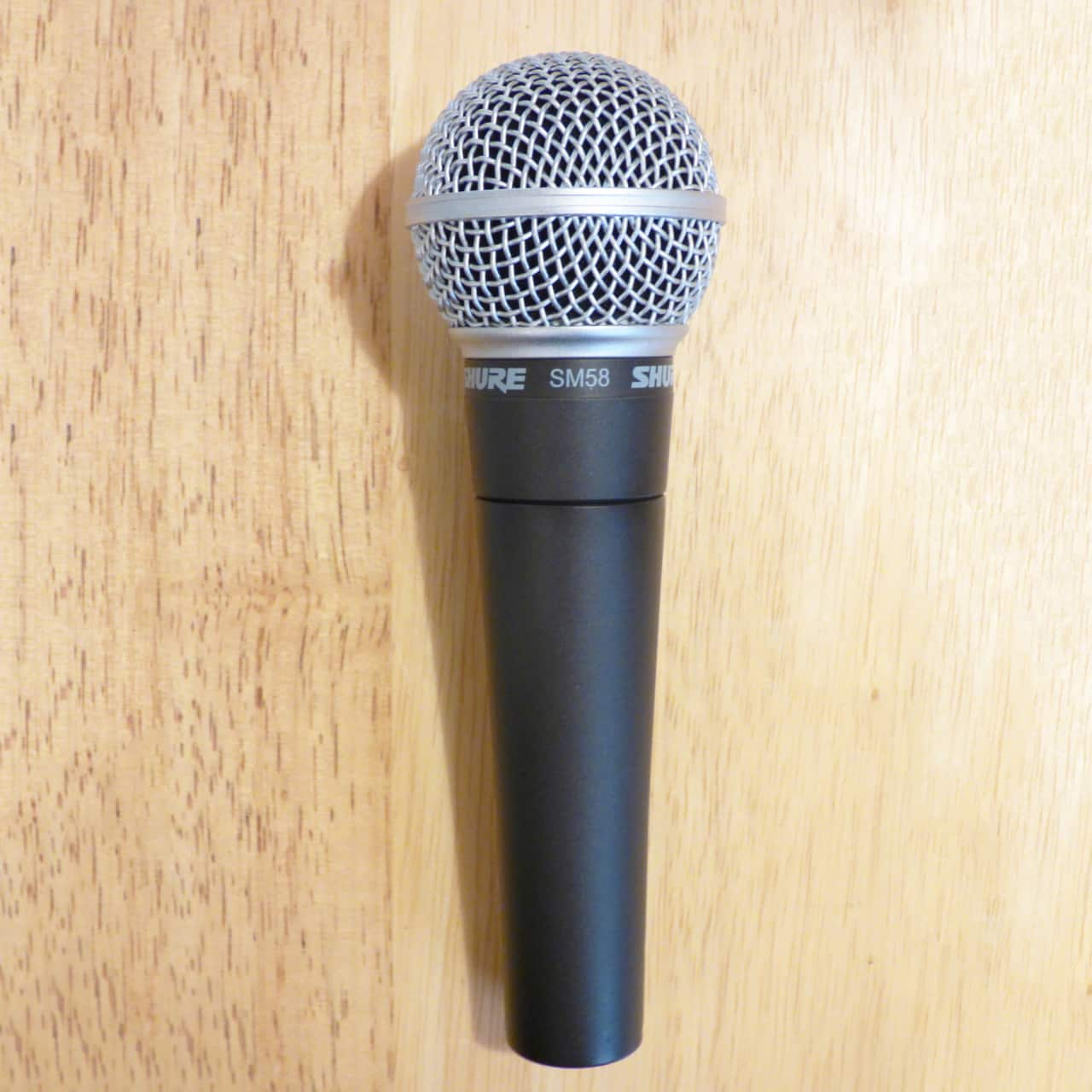 Shure sm58 dynamic cardioid microphone classic vocal mic for Classic house vocals