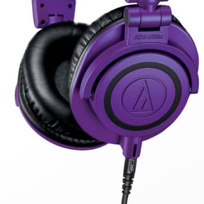 Audio-Technica ATH-M50x Limited Edition Headphones - Purple/Black