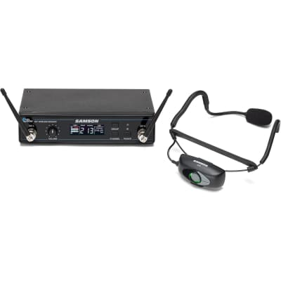 Samson Airline 99 AH9 QE Wireless Fitness Headset Microphone System, Band D (542-566 MHz)