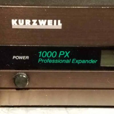 Kurzweil 1000 PX Professional Expander (Rackmount) 1988 - 1992 Black