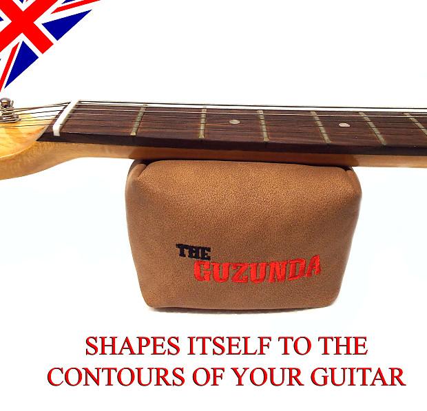 Strings /& Set-up Luxury guitar neck rest /& support Luthier Beanbag GUZUNDA