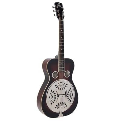 Recording King RR-50-VS Professional Grade Wood Body Roundneck Resonator Guitar for sale